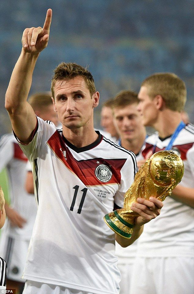 German Legend Klose: Africa Will Win FIFA World Cup With More Slots