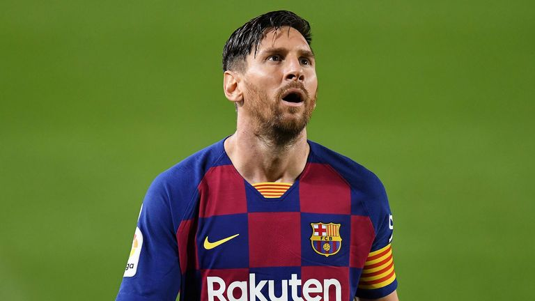 Messi Left Out Of Barca's UCL Squad To Face Dynamo Kiev