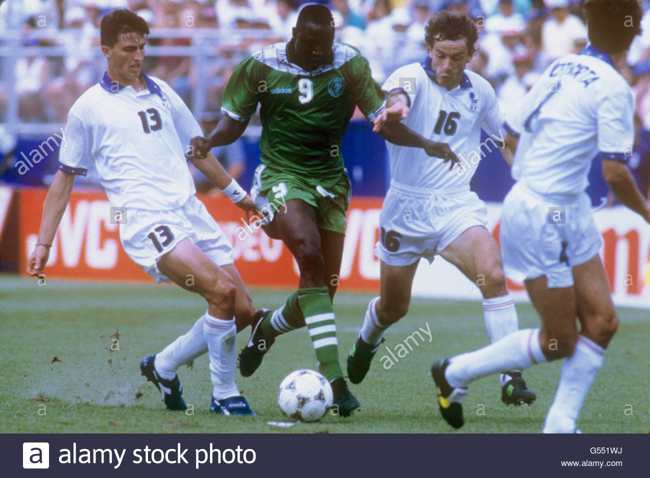Finidi: Why Super Eagles Lost To Italy At 1994 World Cup