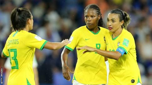 Brazil Women Players To Get Equal Pay As Men