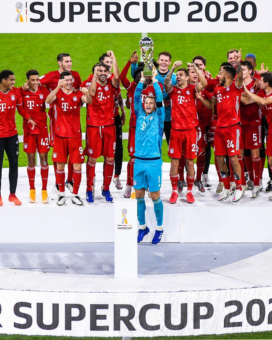 German Super Cup: Bayern Edge Dortmund To Claim Record Title And 2019/20 Quintet
