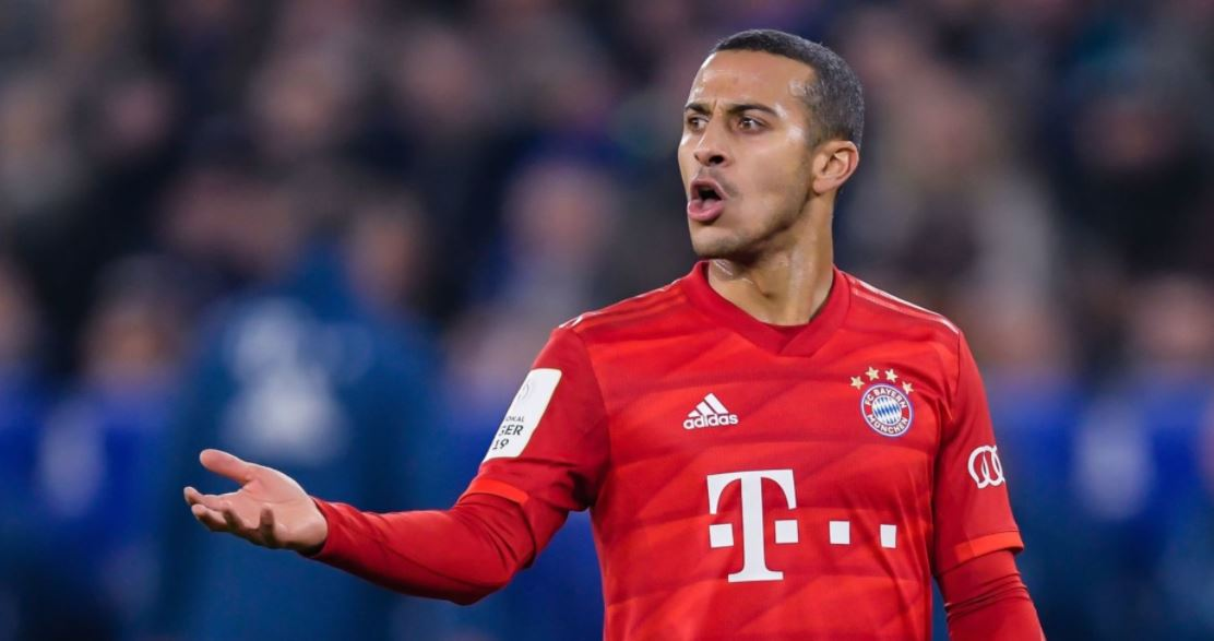 Manchester United Make Contact With Bayern Star Thiago