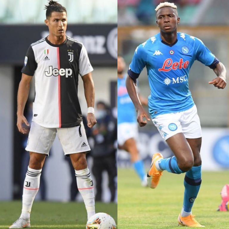 Osimhen, Teammates Worry As Covid-19 Forces Two Players Out Of Juventus – Napoli Clash