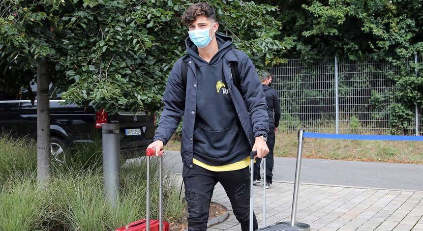 Havertz Departs Germany Camp To Complete Chelsea Transfer