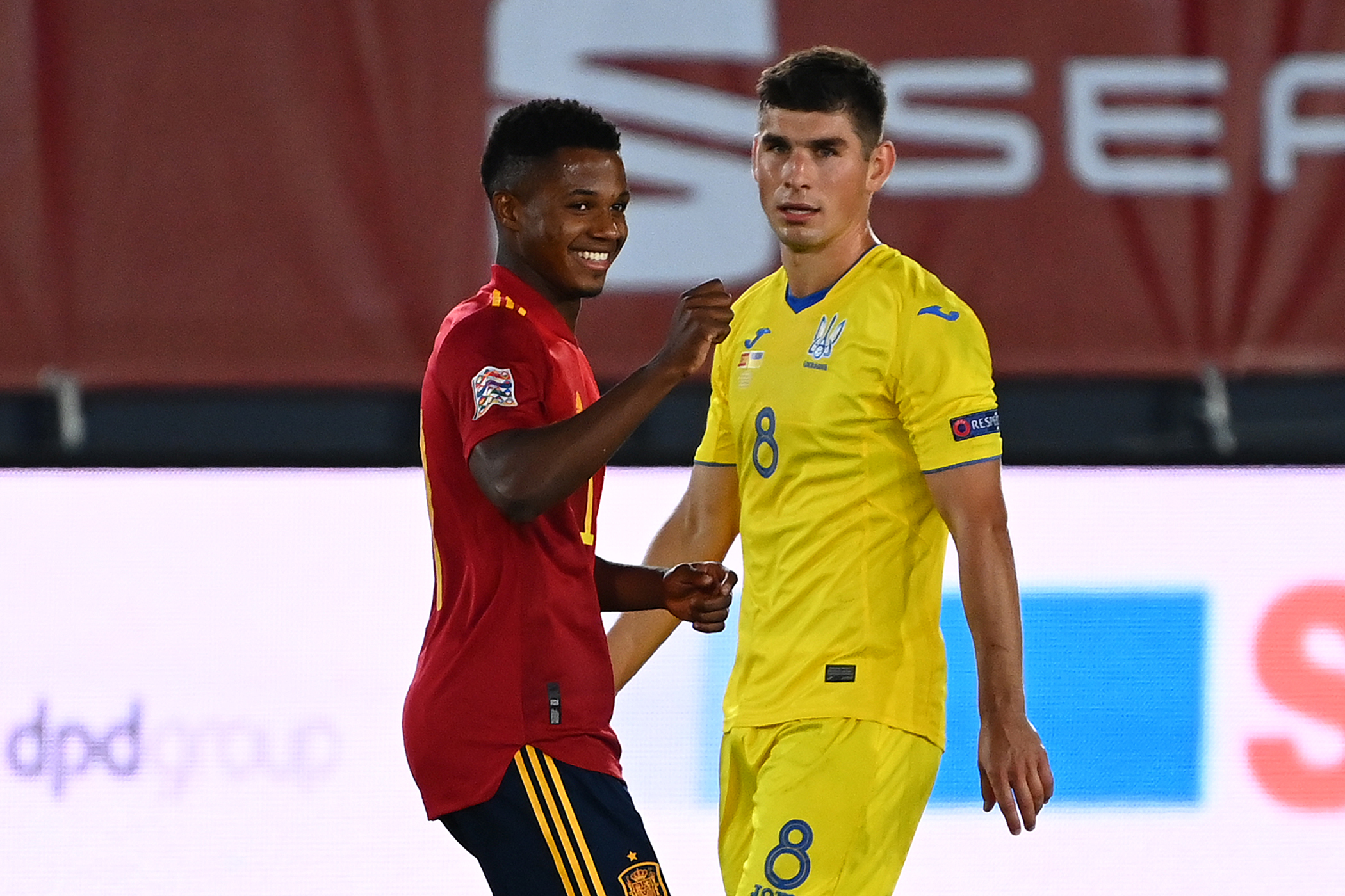 UEFA Nations League: Barcelona's Fati Breaks 95-Year Record As Spain Thrash Ukraine; Switzerland Hold Germany