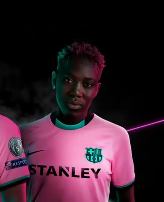 Oshoala, Messi, Fati Model Barcelona's Third Kit Ahead New Season