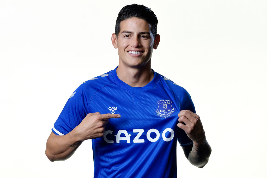 James Rodriguez Joins Everton On Two-Year Deal