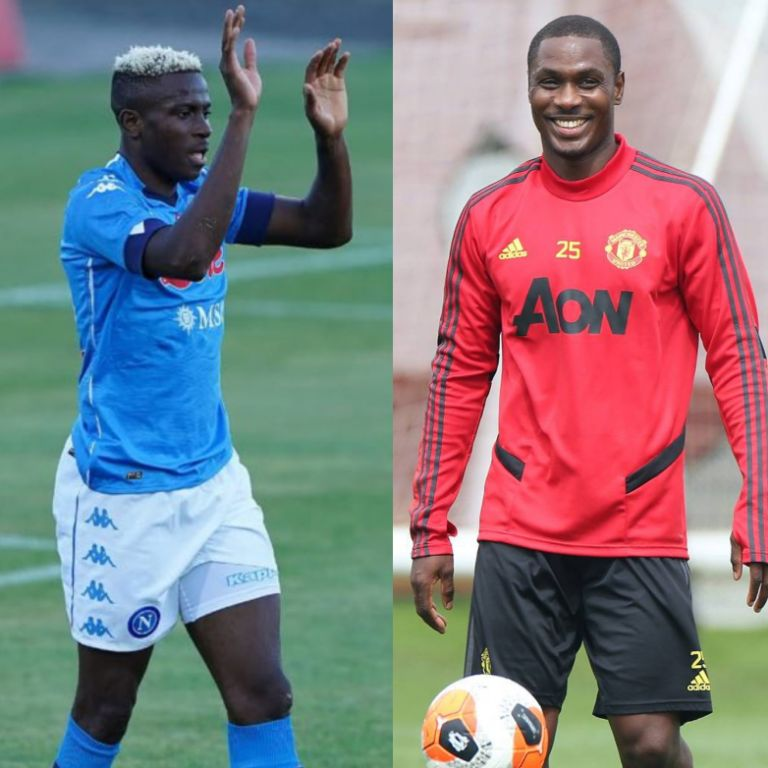 Osimhen Turned Down Man United Offer Due To Respect For Ighalo  –Brother