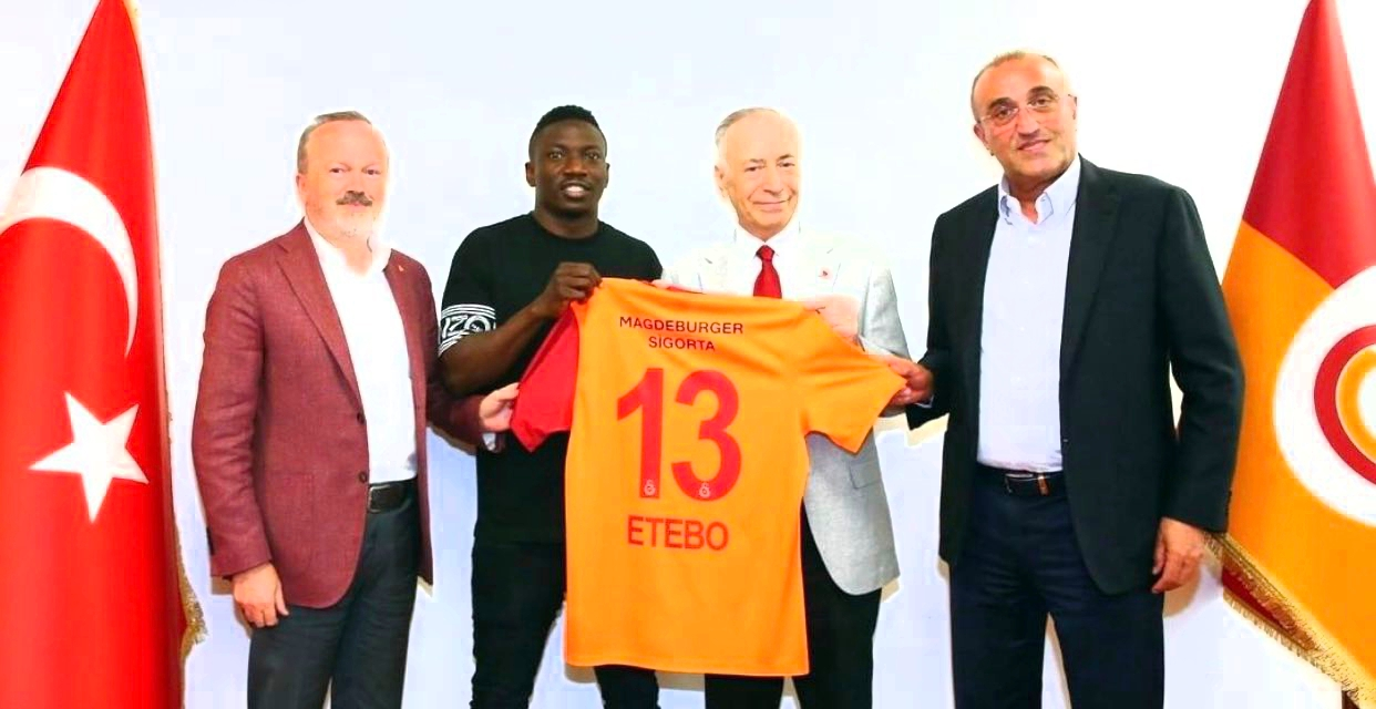 Galatasaray President: Etebo Has 'Warrior Character' For  Success