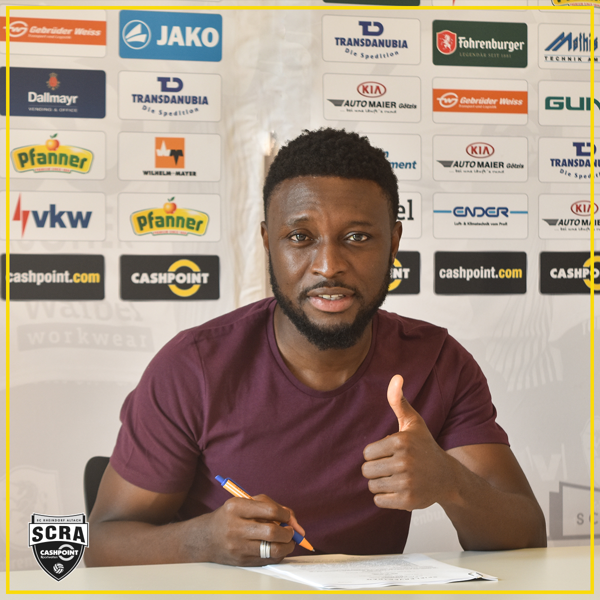 Chinedu Obasi Completes Move To Austrian Club Altach