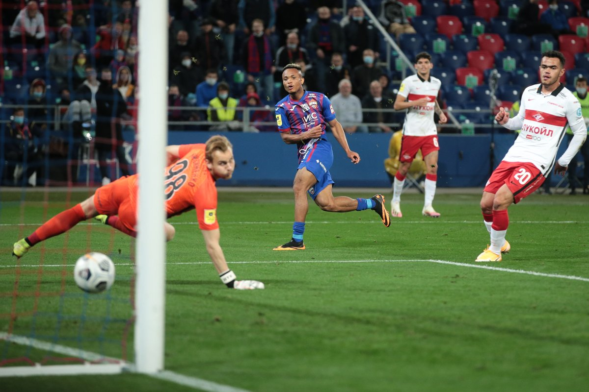 'I Hope This Will Be The First Of Many'- Ejuke Targets More Goals For CSKA Moscow