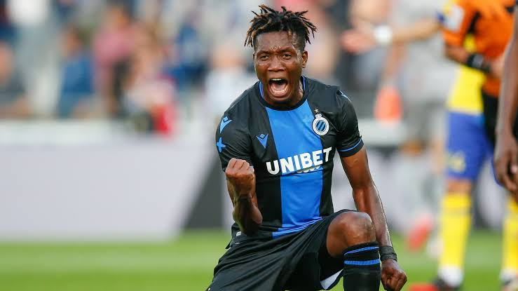 Okereke Savours Match Winning Strike For Club Brugge