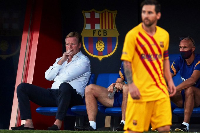 Koeman: I Don't Have Problem With Messi