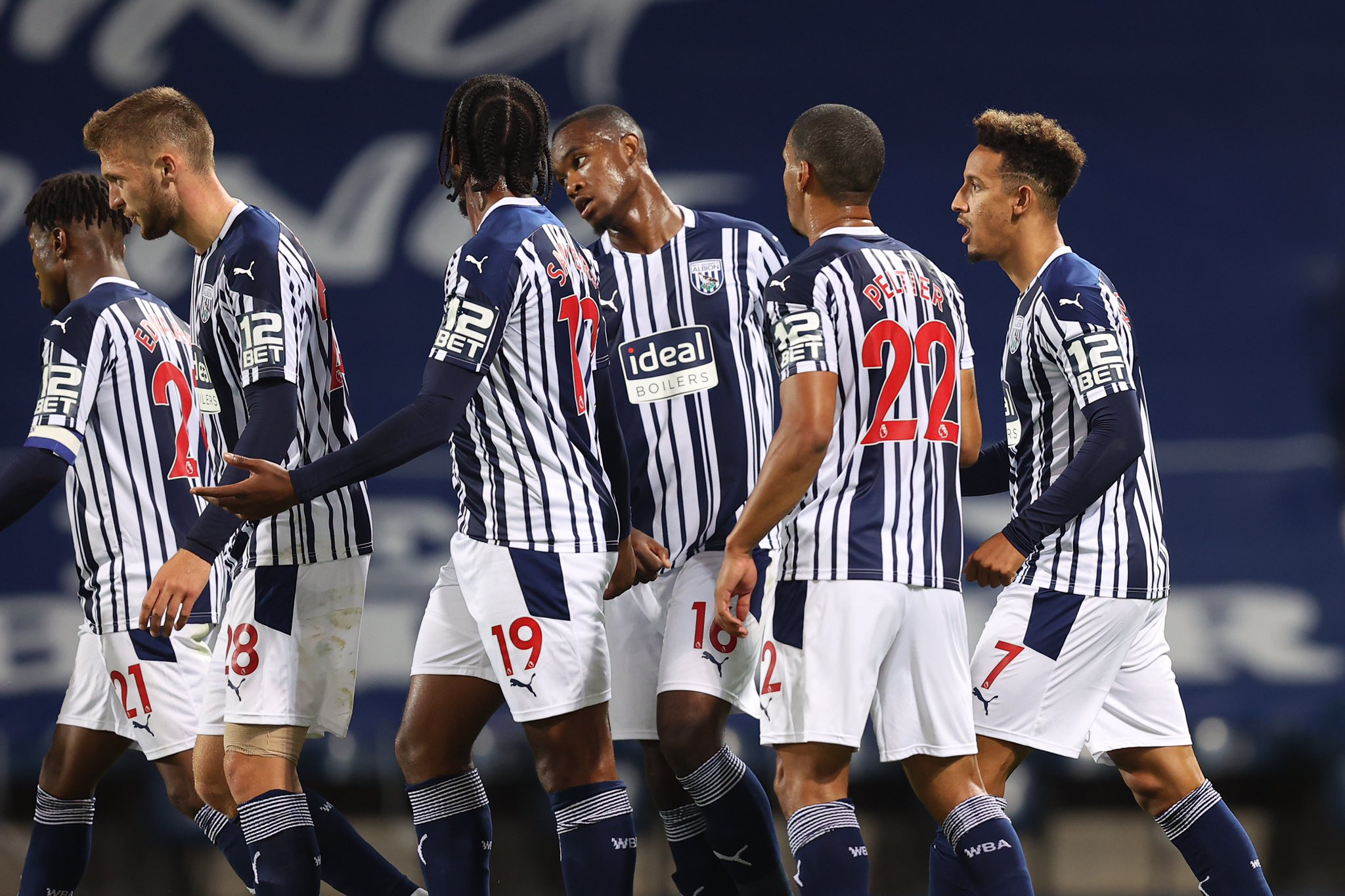 Carabao Cup: Ajayi Benched As West Brom Beat Harrogate, Advance Into Third Round