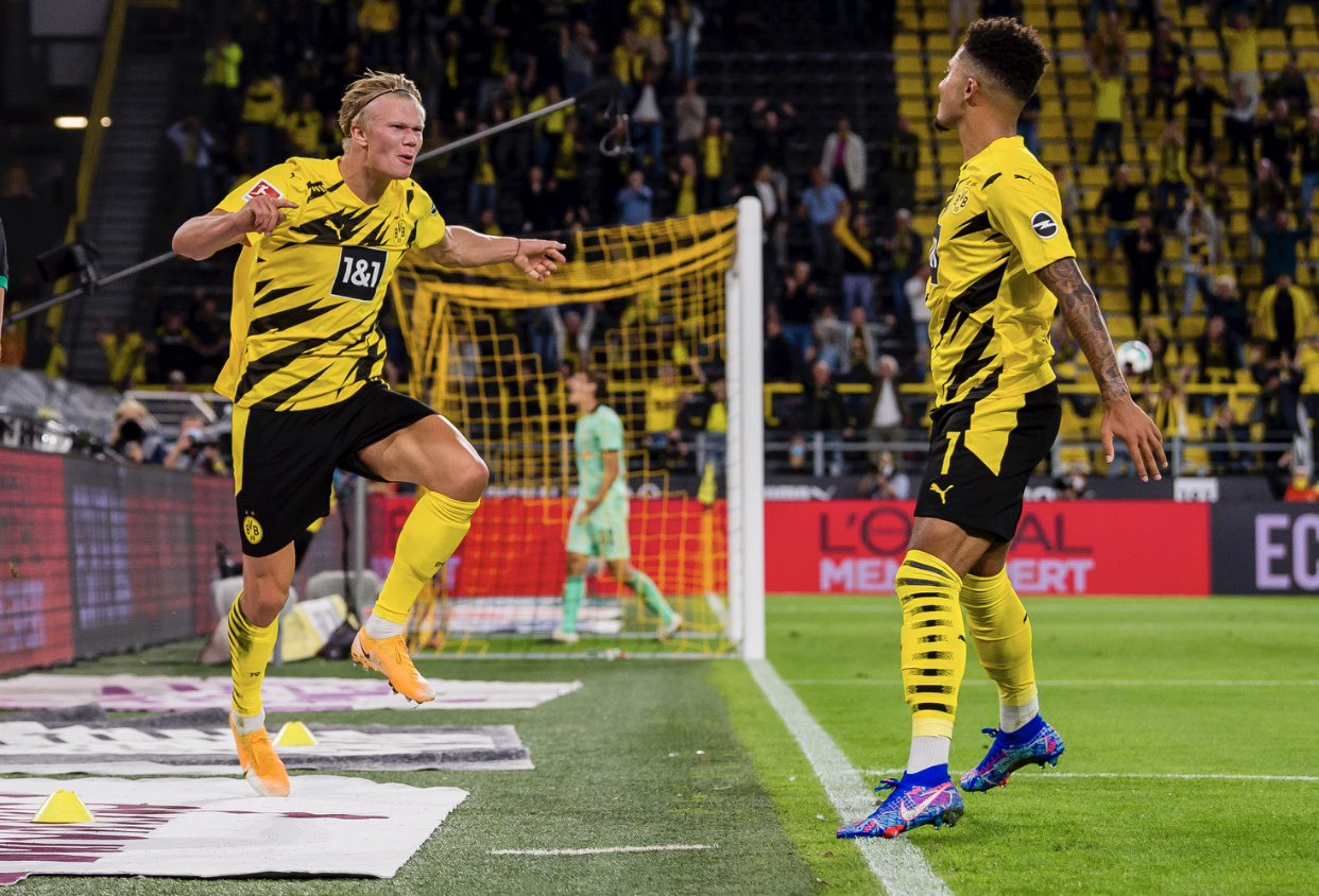 Dortmund Secure Comfortable Win Vs Mönchengladbach In Bundesliga Opener