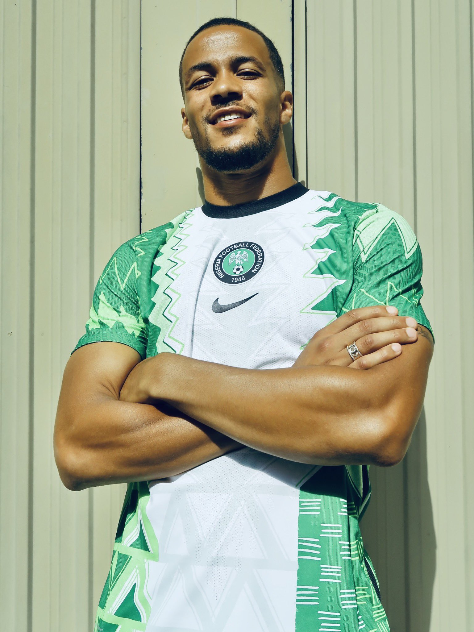 Troost-Ekong, Ndidi, Oshoala Model New Nike kit