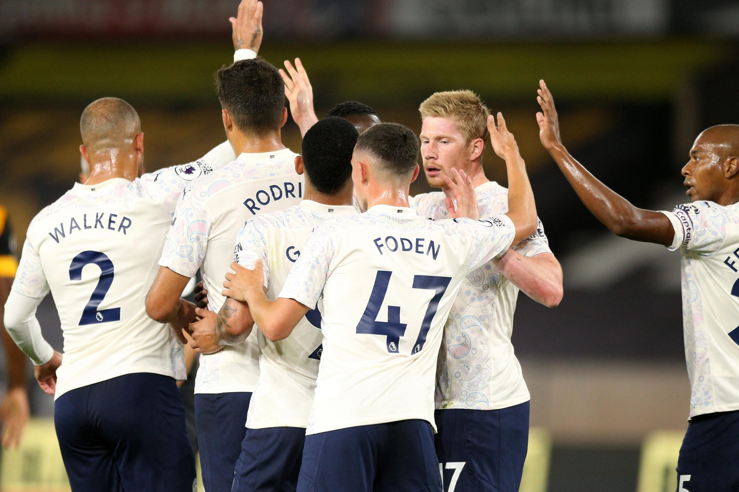 Manchester City Create Premier League Record In Away Win Vs Wolves