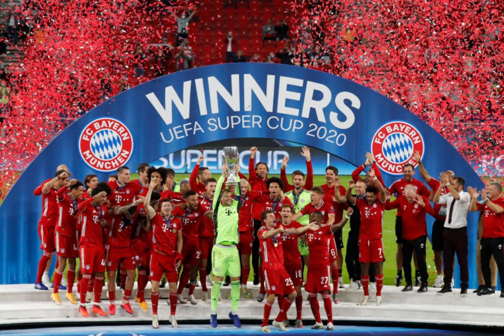 Bayern Pip Gallant Sevilla To Win  2nd UEFA Super Cup Title In History