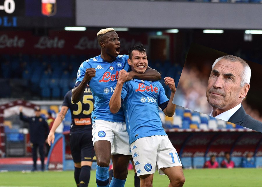 Ex-Napoli Coach, Reja, Fans Admire 'Extraordinary, Powerful, Unselfish Striker' Osimhen
