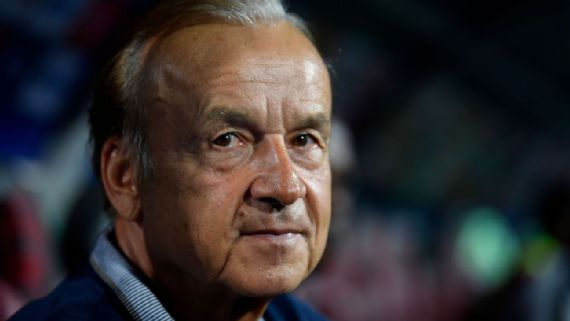 Rohr: Clubs Must Give Young Players Chance To Excel