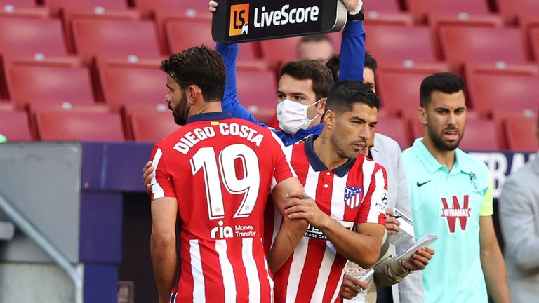 Atletico Striker, Costa: I'll Do The Fighting, Suarez Can Do The Biting