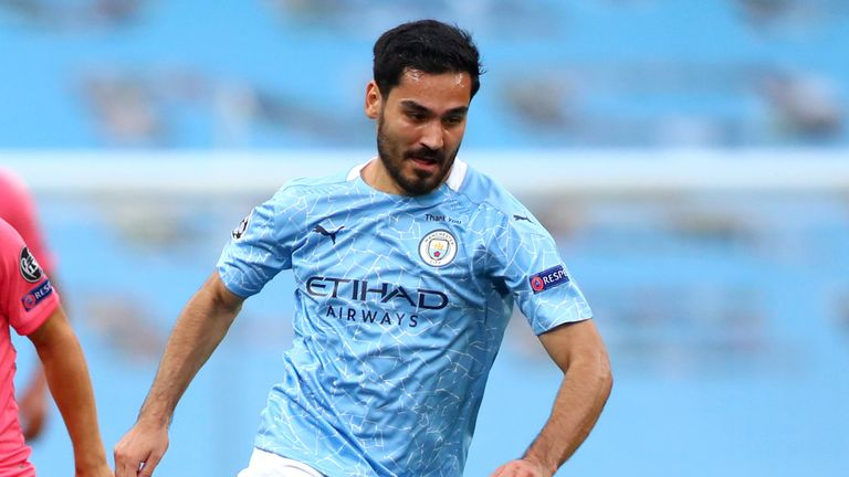 Man City's Gundogan Tests Positive For Coronavirus