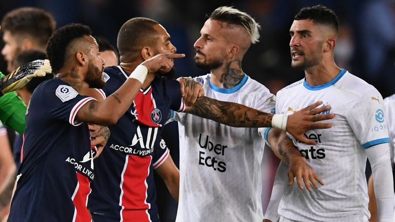 Neymar Gets Two-Game Ban Following PSG-Marseille Brawl