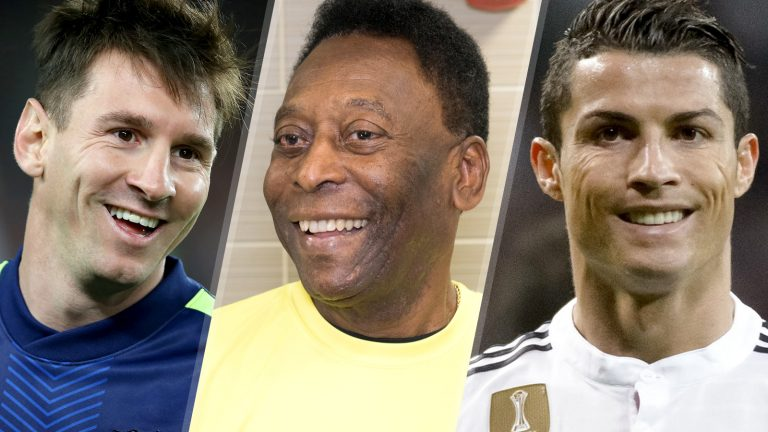 Pele: Ronaldo Better Than Messi But I'm Greatest Player Ever