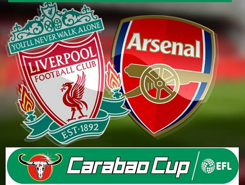 Liverpool, Arsenal Battle Again For Carabao Cup Quarter-finals Ticket