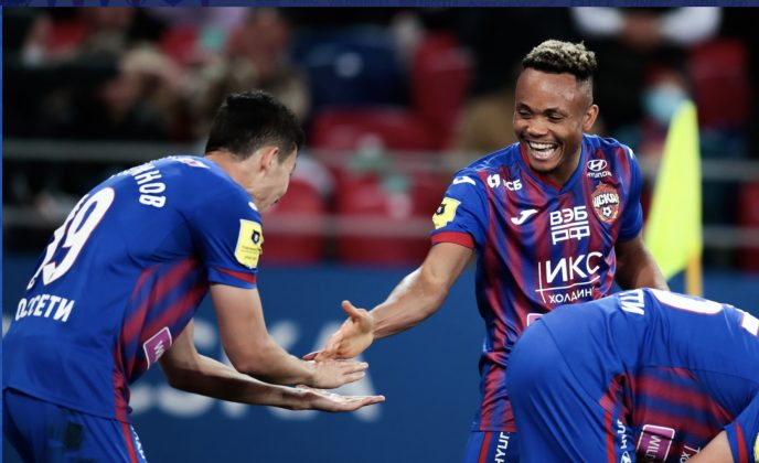 Ejuke Grabs Second League Goal As CSKA Beat Dinamo Moscow In Derby