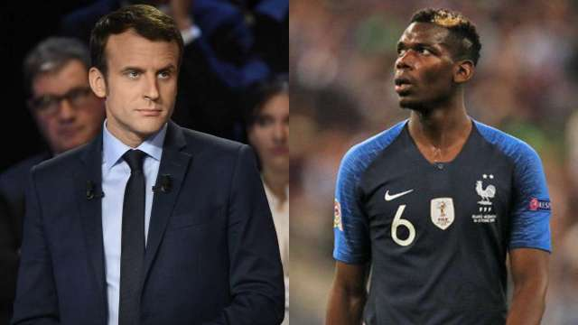Pogba Denies Quitting French National Team Over Macron's Terrorism Comments