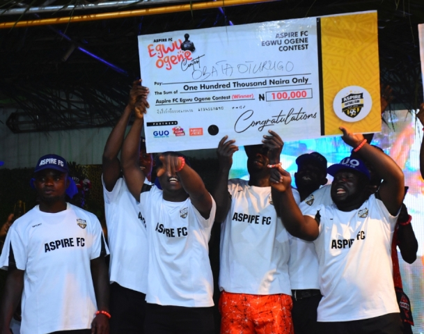 Aspire FC holds First Football-Music Contest In Anambra State