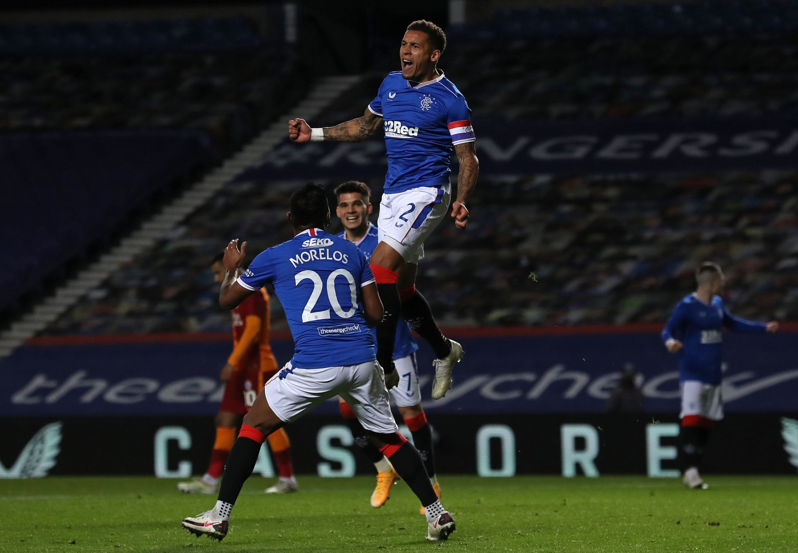 Europa League: Balogun, Etebo Benched As Rangers Edge Galatasaray, Qualify For Group Stage; Egbo's Tirana Crash Out