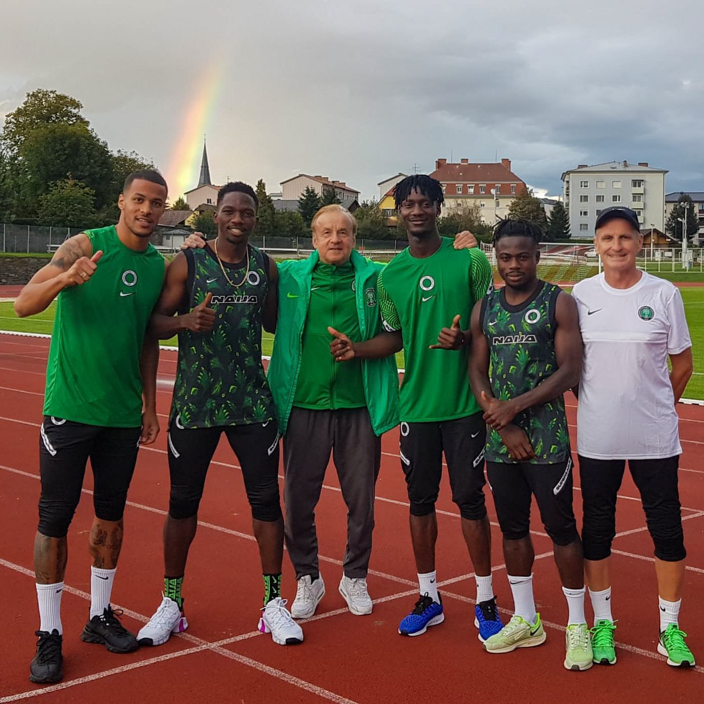 Super Eagles' Camp Bubbles As Balogun, Troost-Ekong, Iwobi, Collins, Others  Arrive For Friendlies