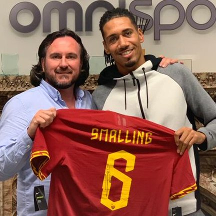 Smalling Joins Roma On Permanent Deal After 10 Years At Man United