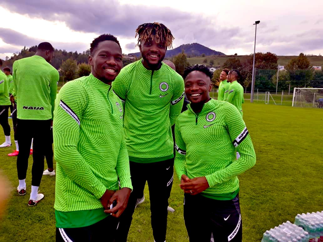 Full House In Austria As Musa, Onuachu Hit Camp