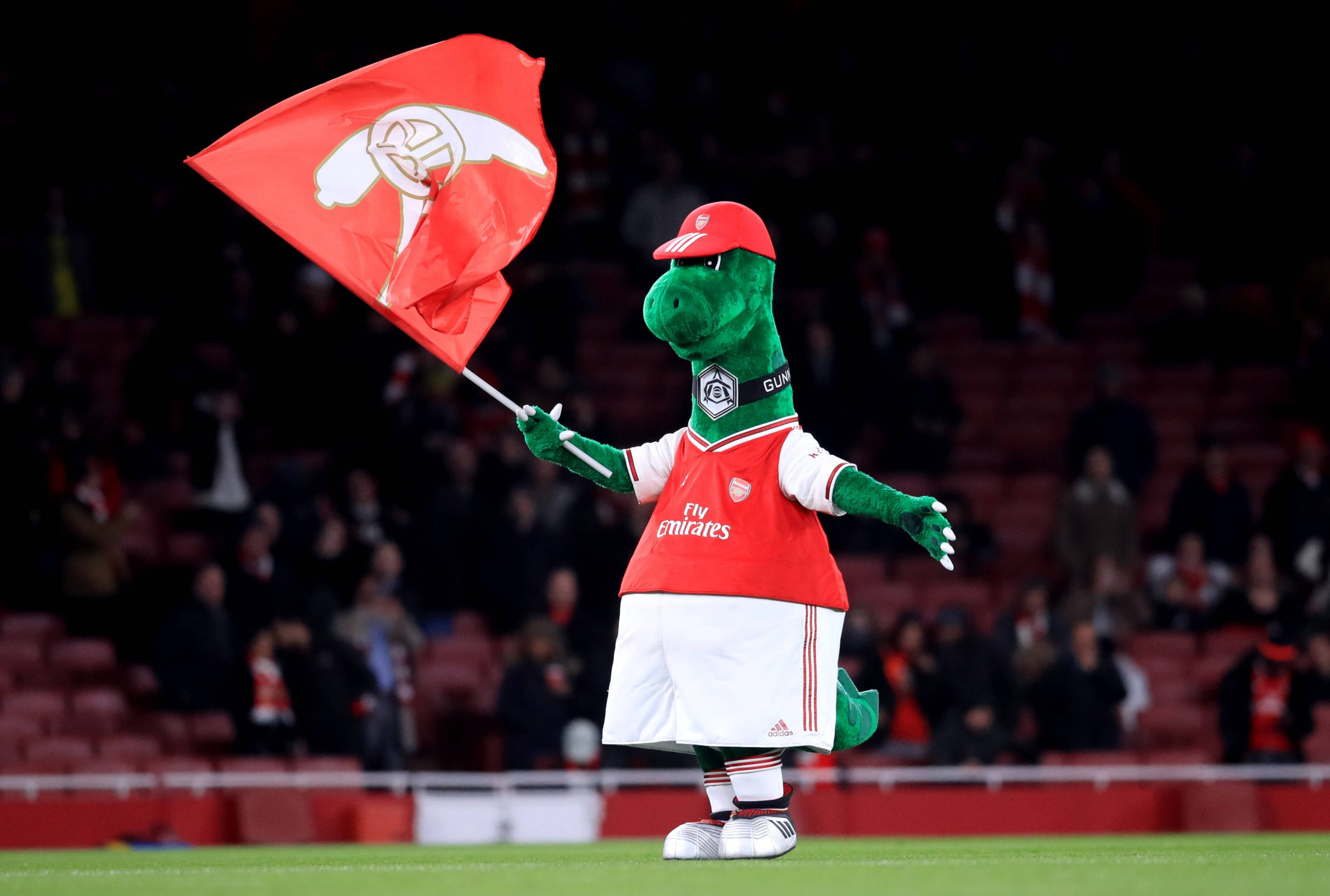 Mesut Ozil wants to save Arsenal mascot Gunnersaurus by paying wages