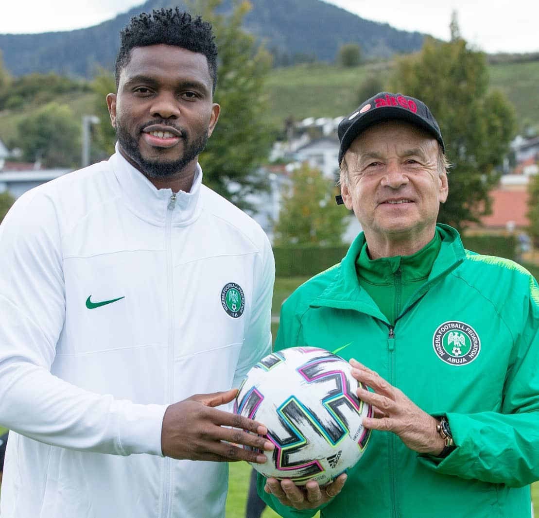 Yobo Thrillled To Reunite With Super Eagles
