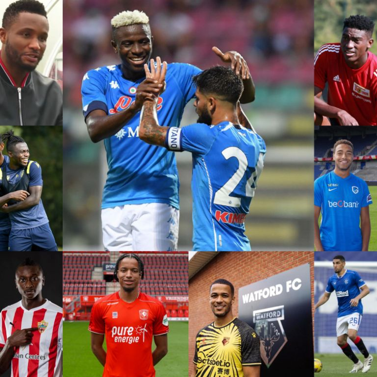 24 Nigerian Footballers Who Moved In The Recent Summer Transfer Window
