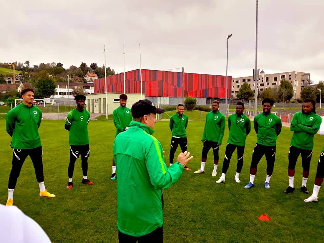 Eagles To Undergo Covid-19 Test Today Ahead Friendly Clash With Tunisia