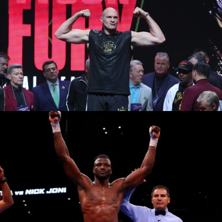 Ajagba May Face Tyson Fury In Heavyweight Bout
