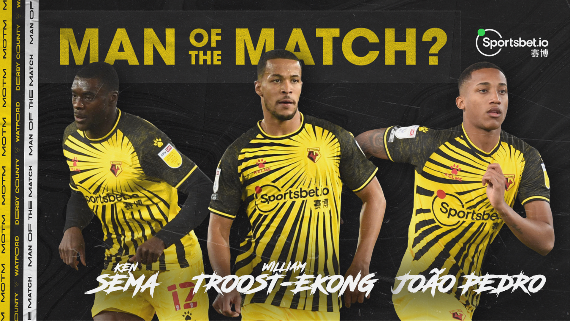 Troost-Ekong Nominated For Watford MOTM Award In Win At Derby County