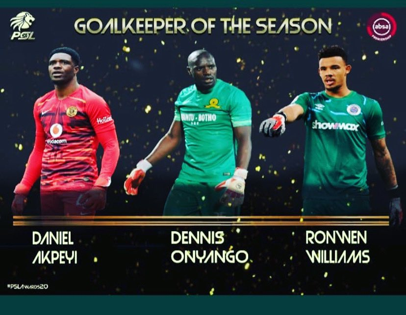 Akpeyi Happy To Be Nominated For PSL Best Keeper Award