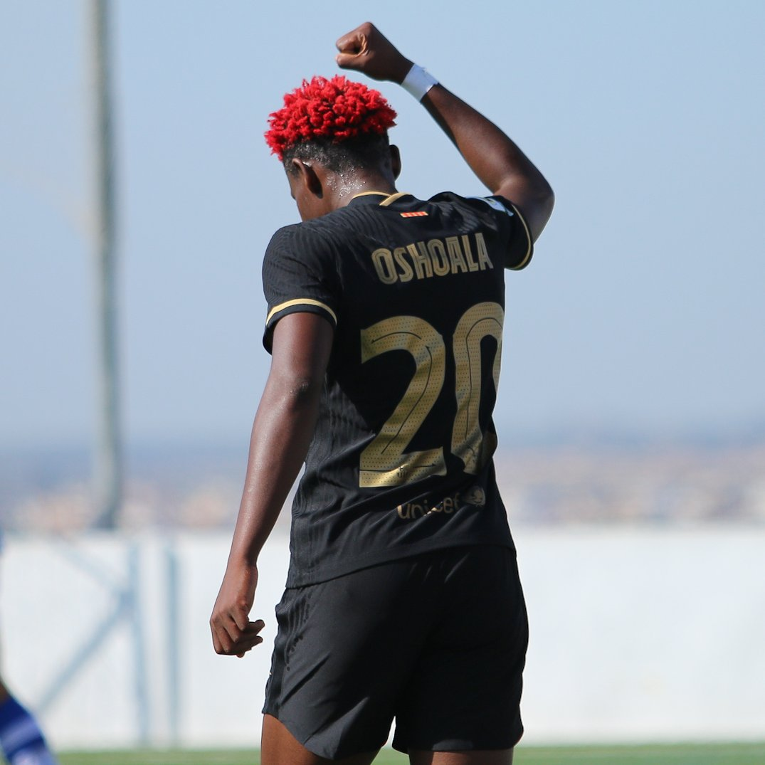 Liga Iberdrola: Oshoala Scores First Goal Of Season As Barca Thrash Sporting De Huelva