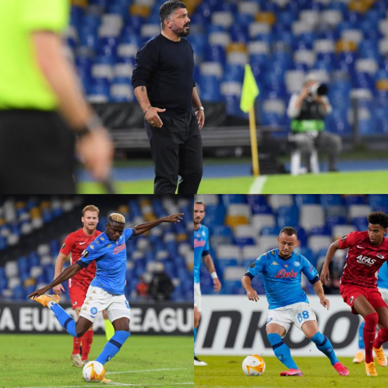 'We Can't Afford Any More Mistakes' – Gattuso Charges Osimhen & Co As Napoli Focus On Benevento Clash