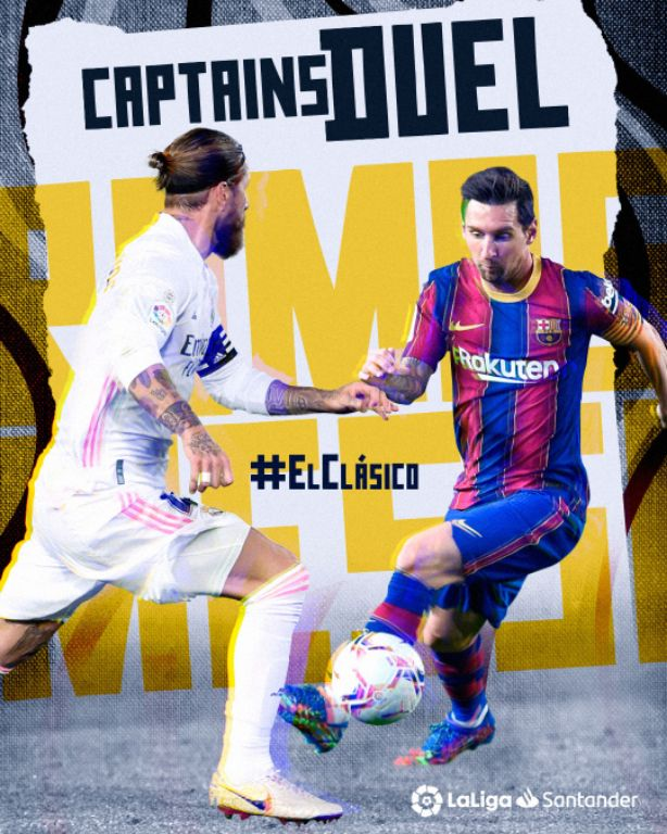 LaLiga And World Football Brace  For The First ElClasico Of Season