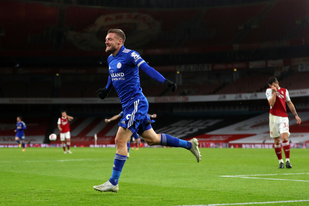 Premier League: Iheanacho Benched As Leicester Claim First Win At Arsenal In 47 Years
