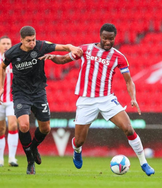 Captain Mikel Relishes 'Massive' Stoke City Win Vs Brentford; Urges Prayers For Nigeria