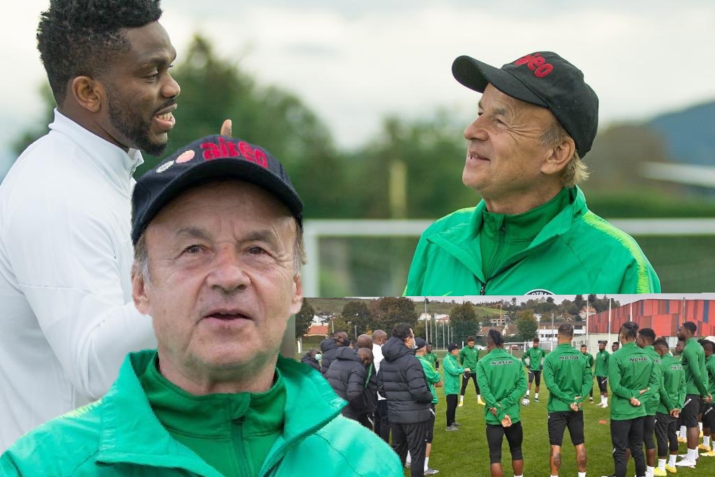 INTERVIEW – Rohr: How Eagles Will Play Vs Algeria, Tunisia; Onuachu Vs Dessers; Plans For Goalies; Akpoguma's Role