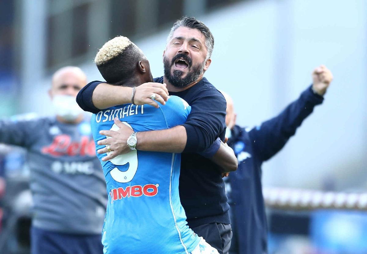 'Osimhen Wanted To Score 1st Serie A Goal Against Juve'  –Brother